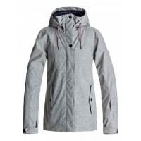 Roxy Billie Jkt (Warm Heather Grey - SJEH)